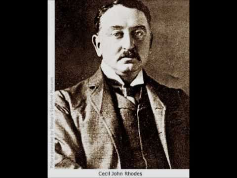The history of Cecil John Rhodes