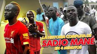 La  HISTORIA completa de Sadio MAN en  4 MINUTOS
