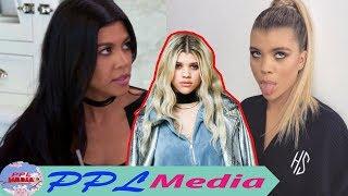 Sofia Richie argued with Kourtney Kardashian when disparaging about her new photo thumbnail