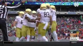 Notre Dame Football vs Syracuse Highlights