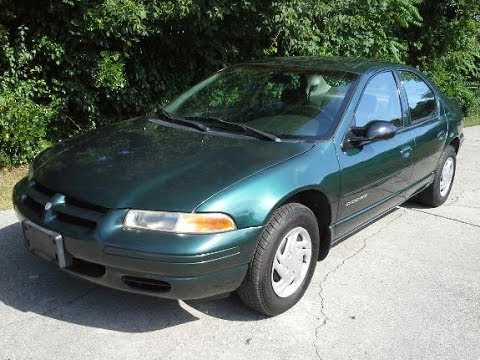 Look At A 1999 Dodge Stratus W 18 000k