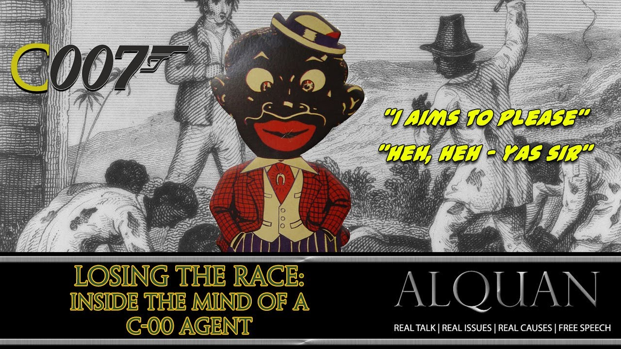 Losing the Race:  Inside the Mind of a C-00 Agent. #ADOS Self-hate.