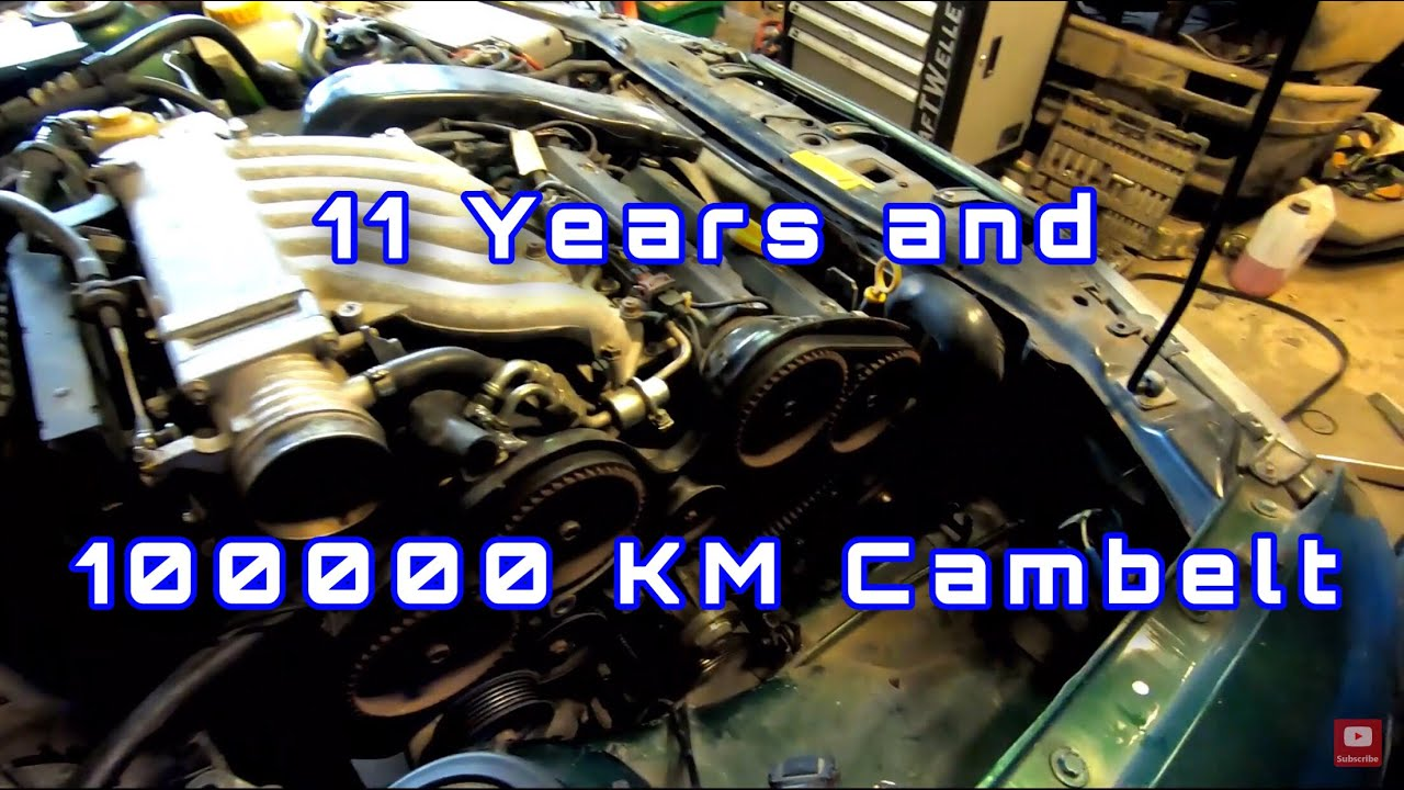 Opel Calibra V6 X25XE 11 Years  Old Timing belt