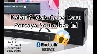 Review !! Soundbar Samsung HW-Q60T New 2020 || 5.1 Ch Nendang banget suaranya