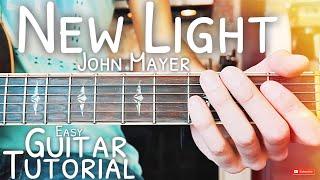 Download Lagu New Light John Mayer Guitar Lesson for Beginners // New Light Guitar // Lesson #485 Mp3