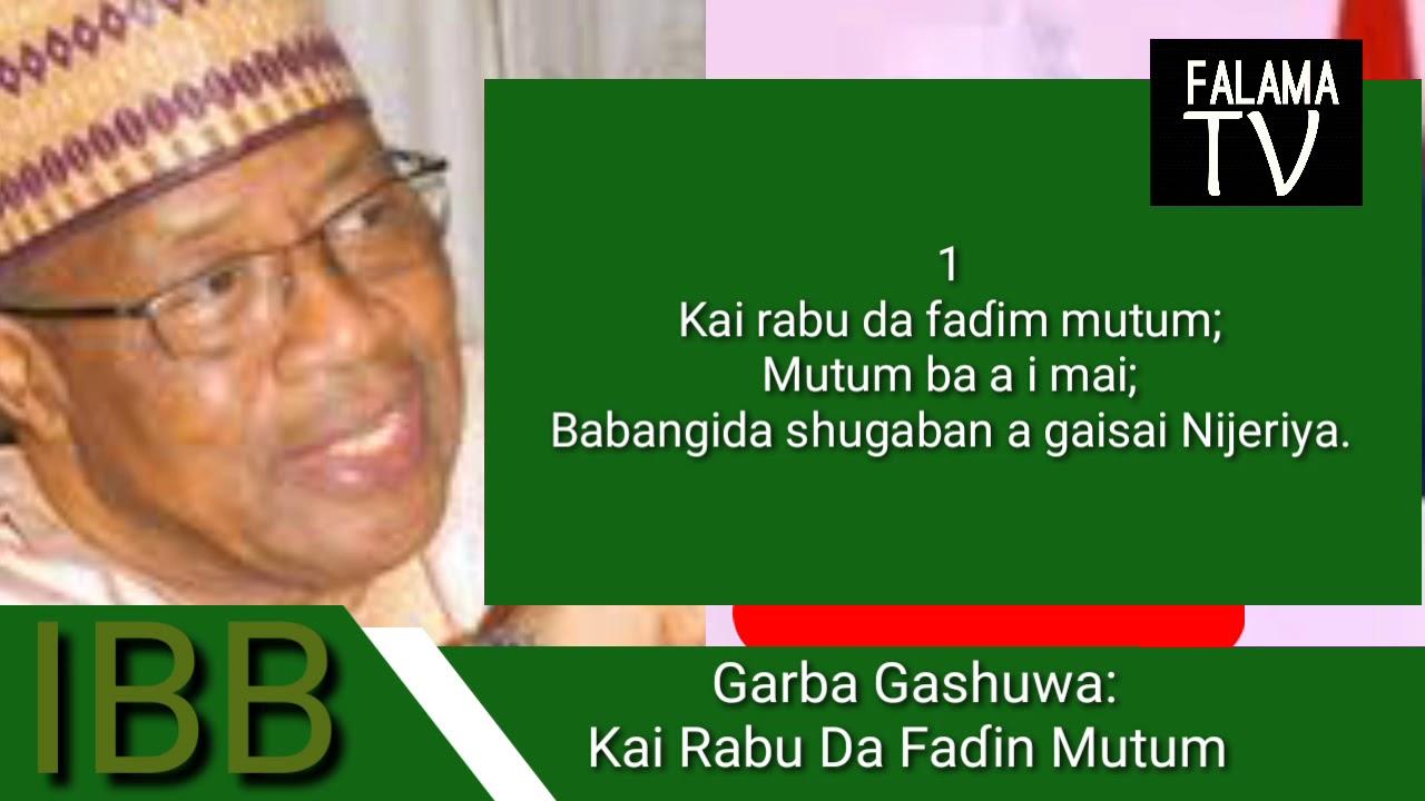 Download Garba Gashuwa: Kai Rabu Da Faɗin Mutum