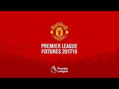 Manchester United Official Premier League Fixtures 2017/18!