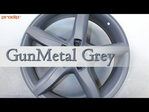 GunMetal Grey Plasti Dip Tutorial - How to paint wheels