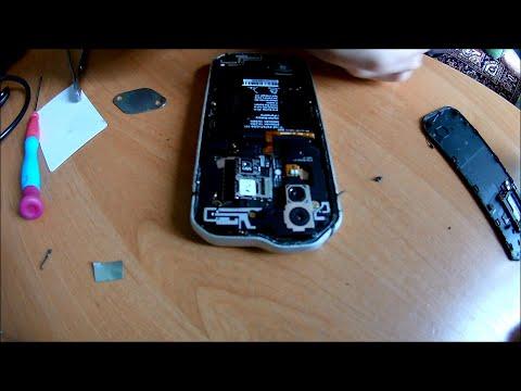 Как разобрать телефон СAT S 60