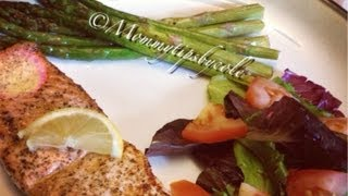 Recipe: Pan Seared Salmon & Asparagus