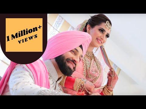 Full Punjabi Wedding Highlights | Gurpreet And Navjot | Best Indian Wedding Highlight Video