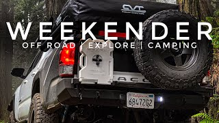 Camping in Big Sขr California | Amazing Views | Off Road Trails