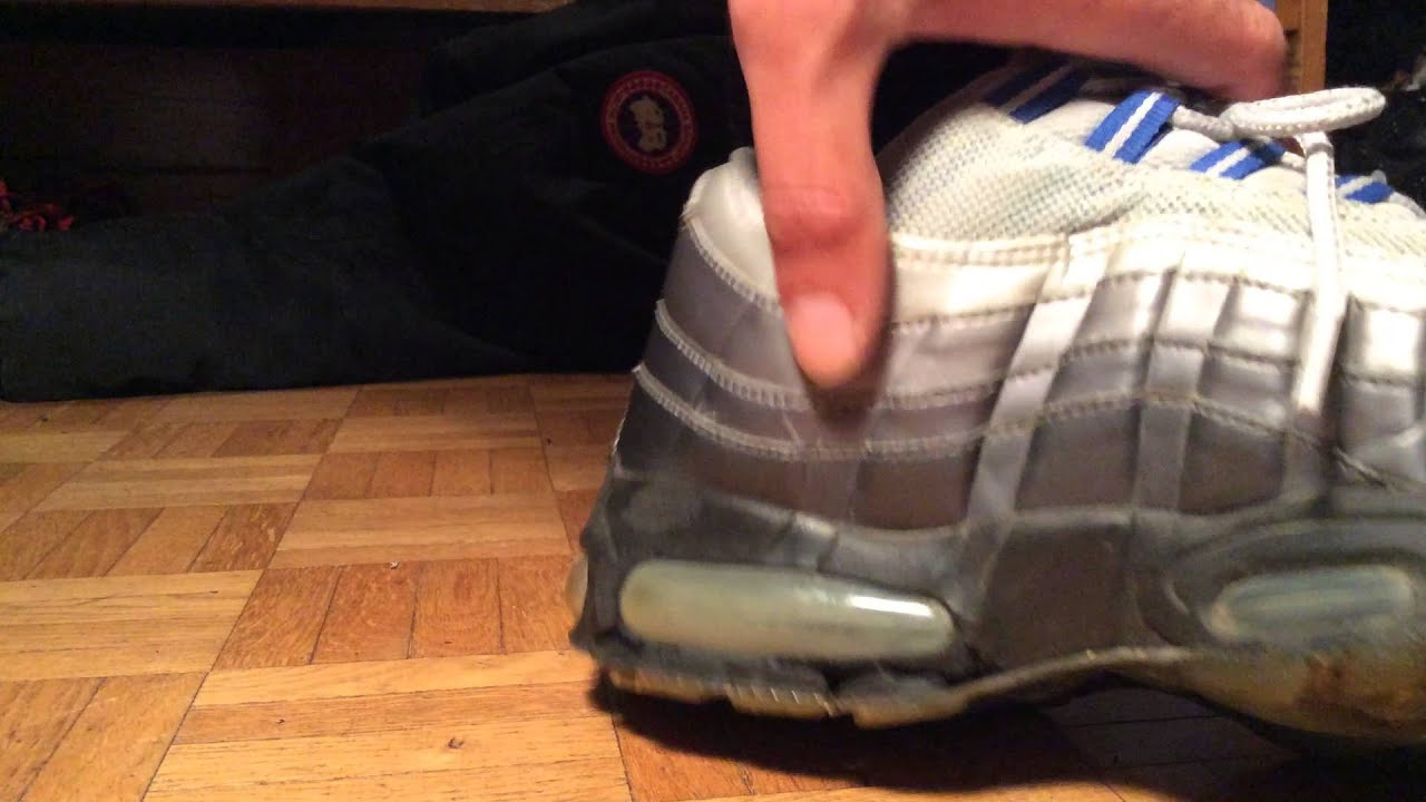 my nike air max deflated balloon
