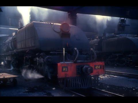 Zimbabwe Steam: Bulawayo Steam Shed Dawn and Station