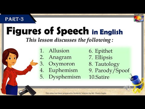 Figures of Speech in English (Vocabulary  Grammar Lessons)