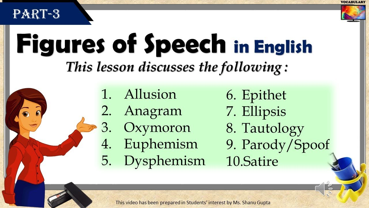 small resolution of Top-22 Figures of Speech in English (Part-1) - YouTube