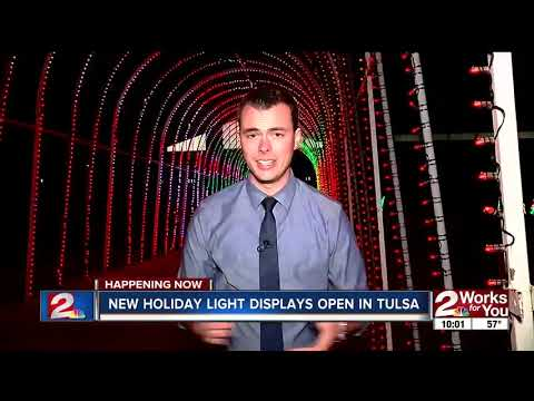 New holiday light displays open in Tulsa