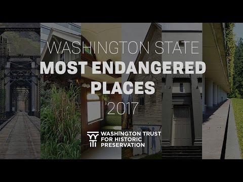 Most Endangered Places 2017 - Washington State