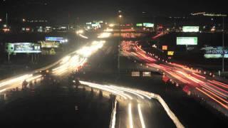 Watch Time Lapse - Street Traffic at Night