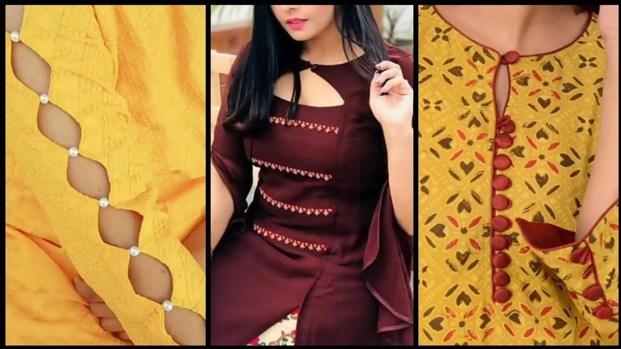 New Latest Salwar Kameez Neck Designs 2020 Neck Sleeves Design For Suits Kurti Design 2020 Youtube