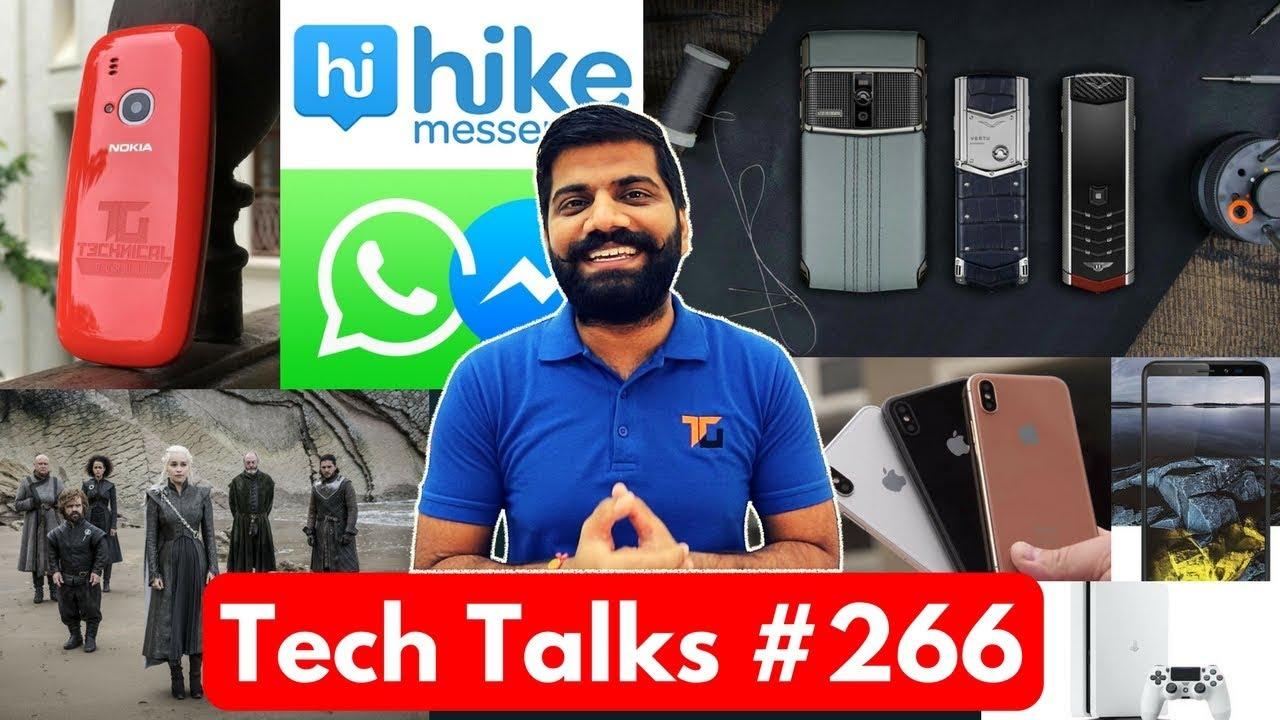Tech Talks #266 - Micromax Infinity, 419Rs 168GB, Moto X4, Oppo F3 Special, GOT Leak, iPhone 8