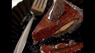 Dark Chocolate Salted Caramel Pie