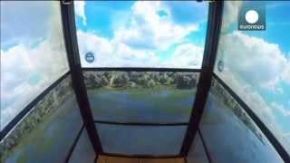 Voyage dans le temps en ascenseur jusqu'au sommet de New York