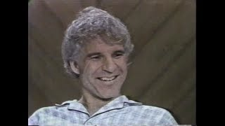 Steve Martin on The David Letterman Show, September 30, 1980