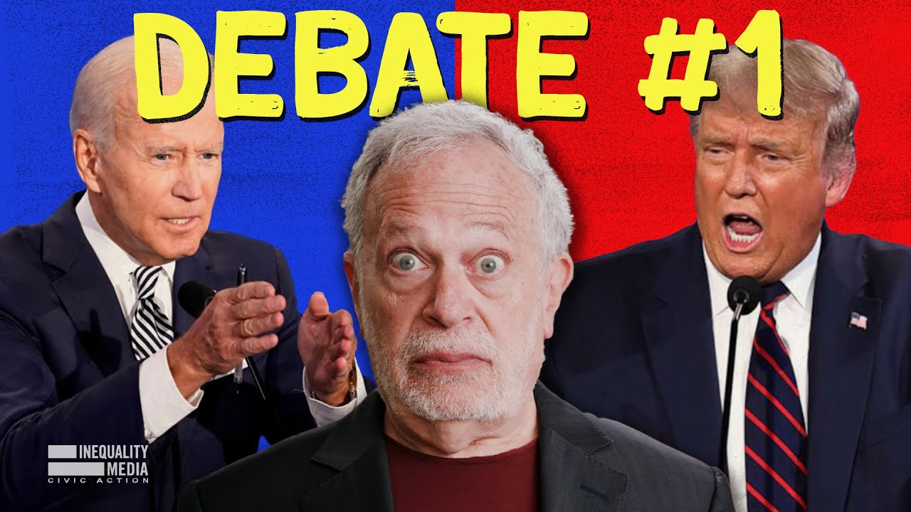 The 6 Most Revealing Moments From the Presidential Debate | Robert Reich