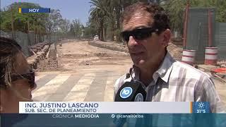 Avanza la obra de lo que será el nudo vial de Plaza España
