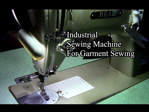 Industrial Sewing Machine For Garment Sewing