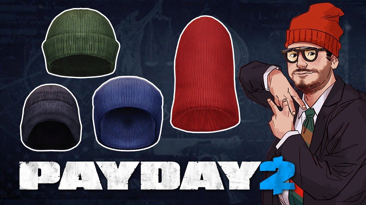 Payday 2 Ethan Character Pack Beanies Masks