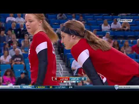 Utah at UCLA - NCAA Women's Volleyball (Oct 29th 2016)