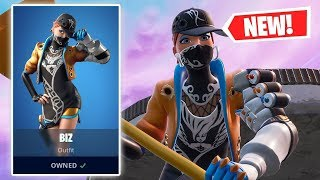 NEW BIZ Skin Gameplay in Fortnite!