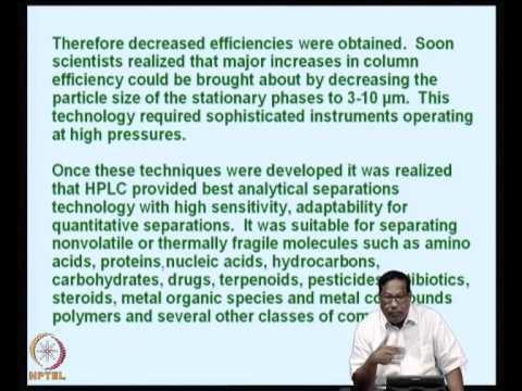 Mod-07 Lec-43 Gas chromatography -3 iii. Applications