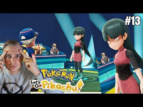 Sabrina! Liderka psychicznych pokemonów! (Pokemon Let's GO Pikachu ! odc. #13) thumbnail