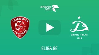 Saburtalo vs Dinamo Tbilisi full match