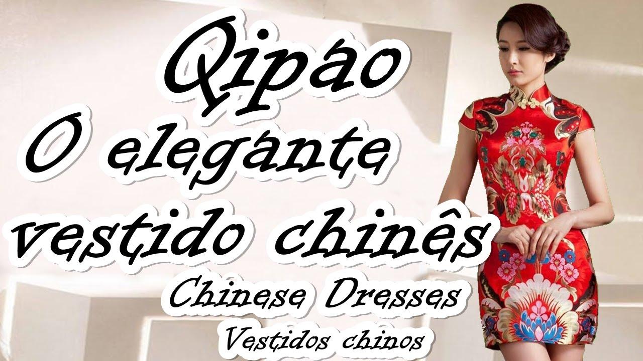 buscar auténtico venta de tienda outlet duradero en uso QIPAO O ELEGANTE VESTIDO CHINÊS/ CHINESE DRESSES/ VESTIDOS CHINOS