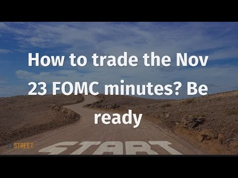 How to trade the Nov 23 FOMC minutes? Be ready