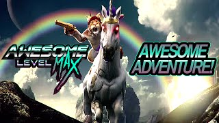 trials fusion awesome level max dlc cat riding a unicorn