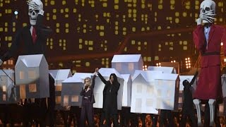 BRIT Awards 2017- Katy Perry's 2017 BRIT Awards Performance Was Crazy