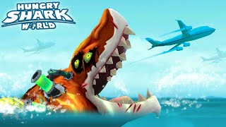 THE BEST SHARK IN THE GAME!!! - Hungry Shark World NEW ATOMIC SHARK | HD