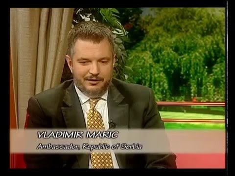 Aaj Savere - An interview with Vladimir Maric, Ambassador, Republic of Serbia