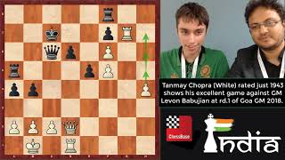 Self taught boy reaches an Elo of 1943 and gives GM a big scare!