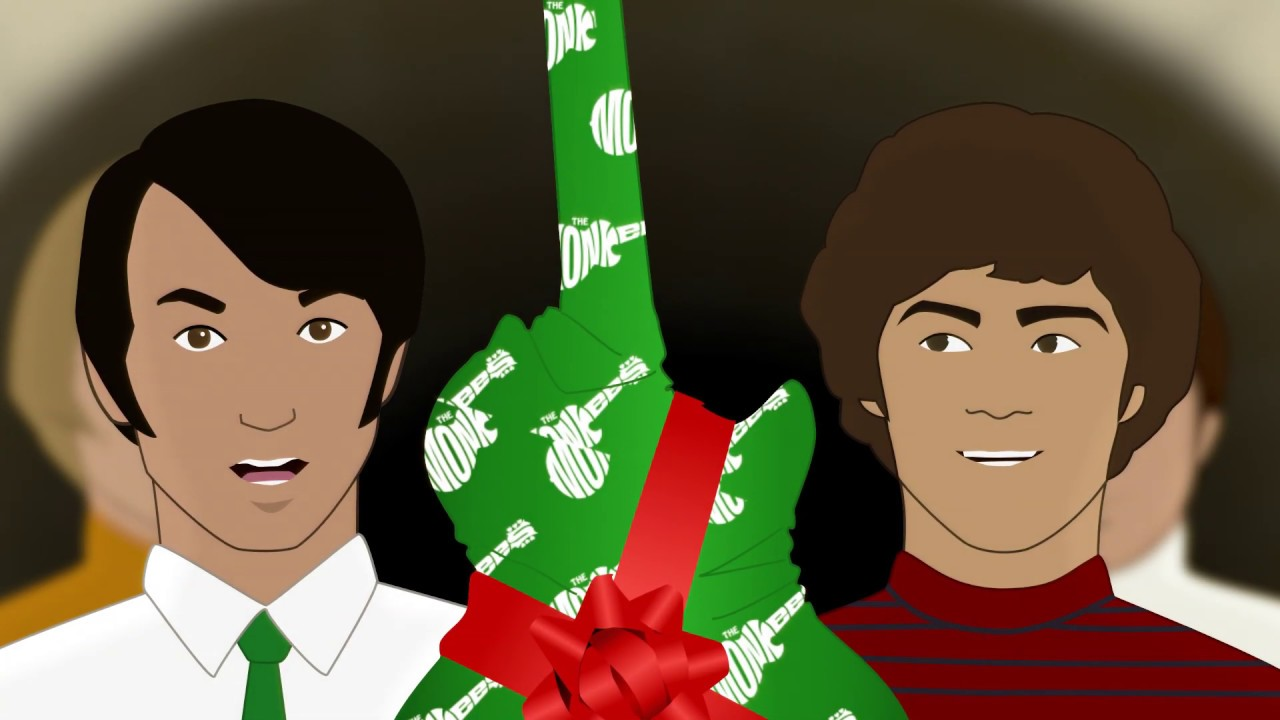 Monkees Christmas Party.The Monkees The Christmas Song Official Music Video