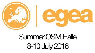 Summer OSM 2016 Halle - Overview