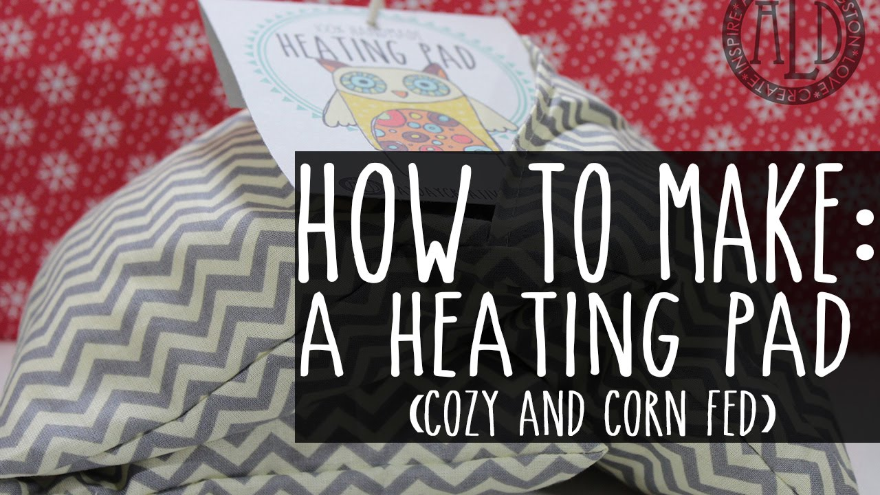 Make A Heating Pad Corn Filled Amp Washable Youtube