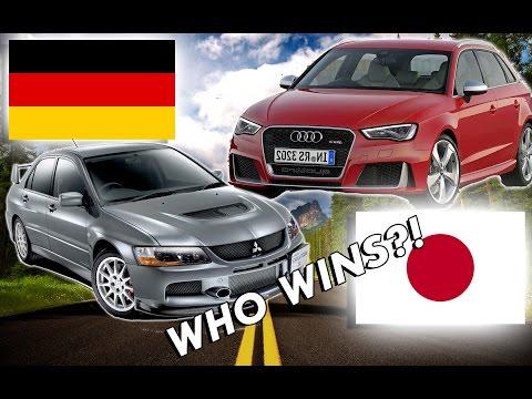 Japanese Cars VS German Cars...WHO WINS?!