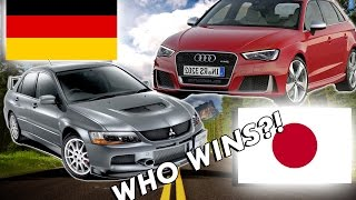 Japanese Cars VS German Cars...WHO WINS?!