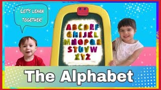 Learn the Alphabet with Danika | ABC Song for Children